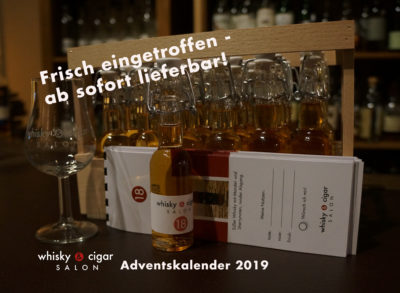 Whisky Adventskalender vom whisky & cigar salon