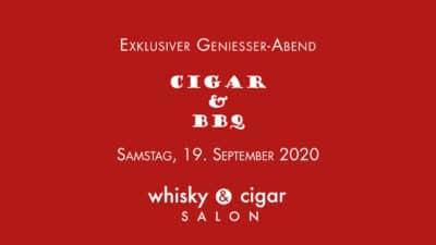 Cigar and BBQ in whisky & cigar salon Gronau.