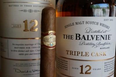 Balvenie & La Traviata in the whisky & cigar salon