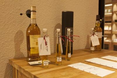 proefflacons whisky & cigar salon