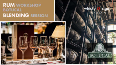 Rum-tasting im whisky & cigar salon