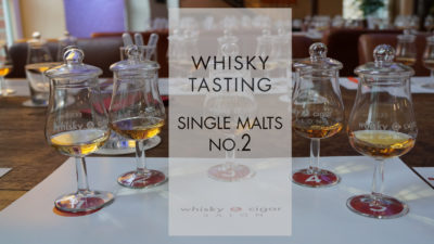 Single Malt Whisky Tasting im whisky & cigar salon