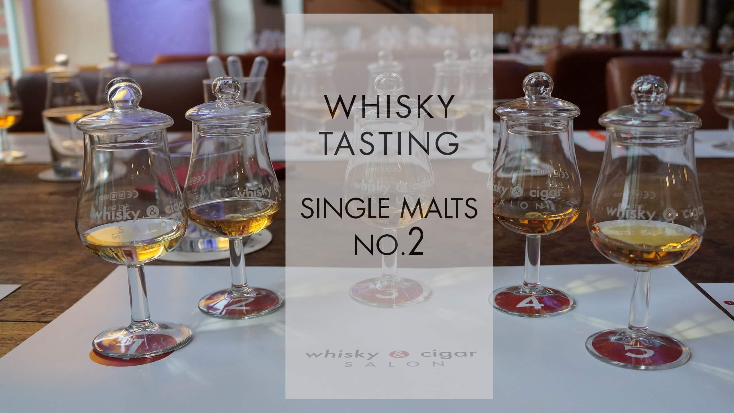 Single Malt Whisky Tasting im whisky & cigar salon