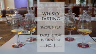 Whisky Tasting Smoke + Peat