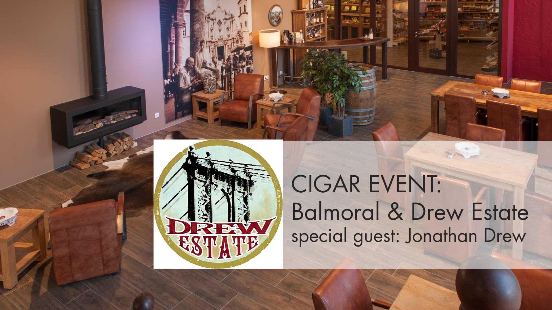 Jonathan Drew & Balmoral im whisky & cigar salon