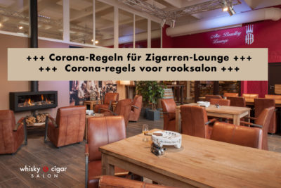 Regeln für Laden und Raucher-Lounge in Corona-Phase