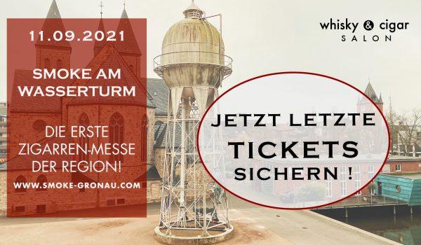 Jetzt letzte Tickets für SMOKE am Wasserturm kaufen