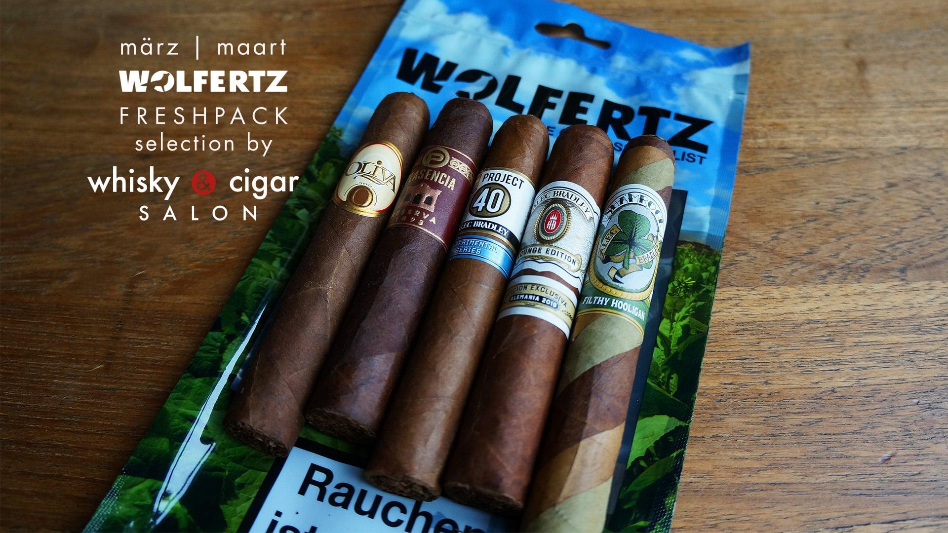 Freshpacks mit Zigarren von Wolfertz