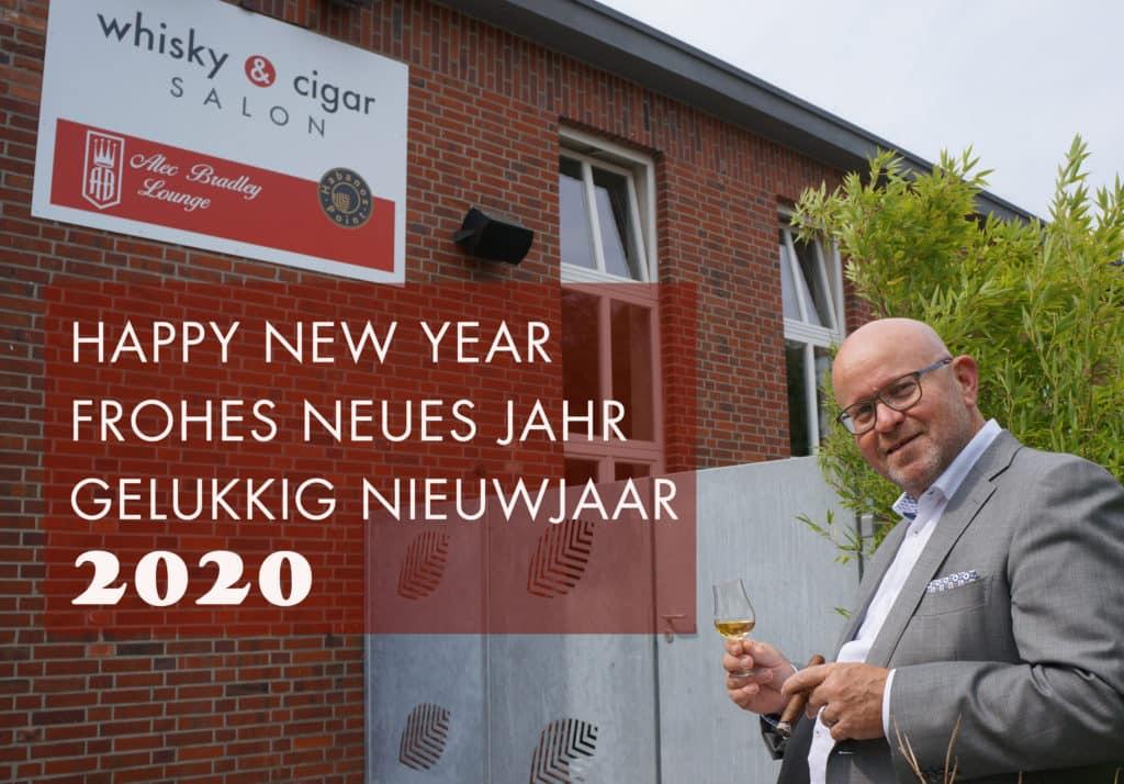 whisky & cigar salon wünscht Frohes Neues Jahr 2020