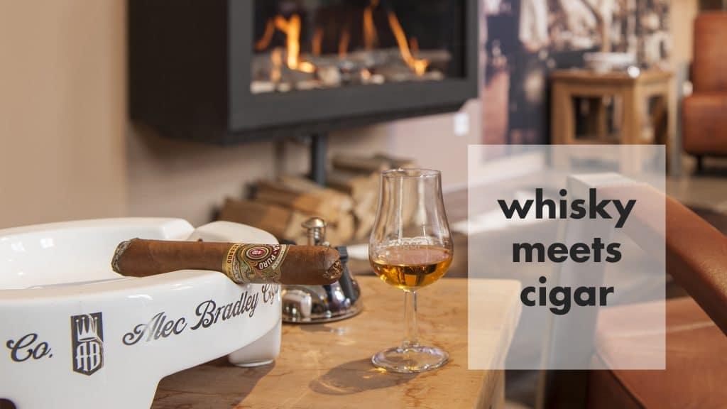 whisky meets cigar tasting
