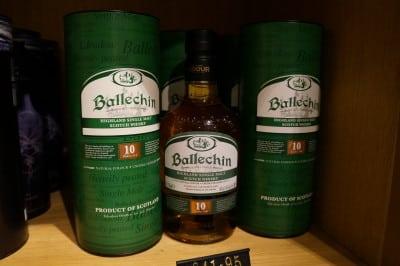Ballechin 10y in whisky & cigar salon